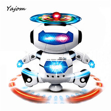 2017 New Hot Electronic Walking Dancing Smart Space Robot Astronaut Kids Music Light Toys Brand New High Quality Mar 9