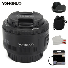 Buy YONGNUO 50mm Lens fixed focus lens EF 50mm F/1.8 AF/MF lense Large Aperture Auto Focus Lens Canon DSLR Camera for $47.60 in AliExpress store