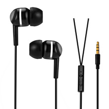 3.5mm Headset with Microphone for Doogee X6 Pro Bass Stereo Subwoofer Earphone for xiaomi for Lenovo A1000
