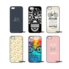For Huawei Ascend P6 P7 P8 P9 P10 Lite Plus 2017 Honor 5C 6 4X 5X Mate 8 7 9 Bicycles Road Just Ride Mountain biking Case Cover