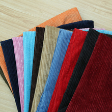 1.5m wide,Flat flannelette corduroy velvet sofa fabric DIY handmade pant coat cloth 079(China)