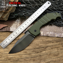 LCM66 tactical Folding knife Cold Steel G10 handle Camping Outdoor Survival Knives Hunting Tools Very Sharp free delivery