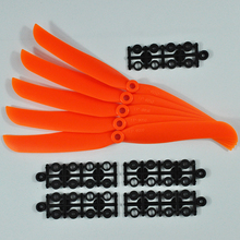 10pcs Big Hole 9050 Direct Drive Propeller 5pk DD Flyer For Fixed-wing Helicopter Airplane(China)