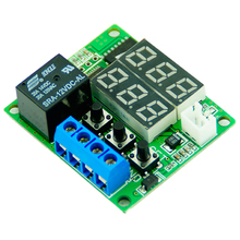 Buy DC 12V 100cm NTC Sensor Module Dual LED Digital Display Thermostat Temperature Controller Regulator Switch Control Relay for $2.74 in AliExpress store