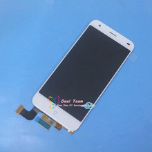 "High Quality ! New LCD Display + Digitizer Touch Screen Glass Assembly For ZTE Blade S6 Q5 Cell Phone 5.0"" White Free Shipping"