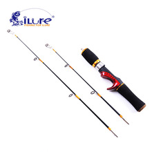 2017 New iLure Fishing Rod 2 tips fishing ice rod carp rod carbon fiber fishing rod winter Fishing Tools Pesca Free Shipping(China)