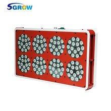 360W Apollo 8 Led Plant Grow Light , Full Spectrum Led Grow Light with Red Blue UV IR for Indoor Plant Growth and Flower(China)
