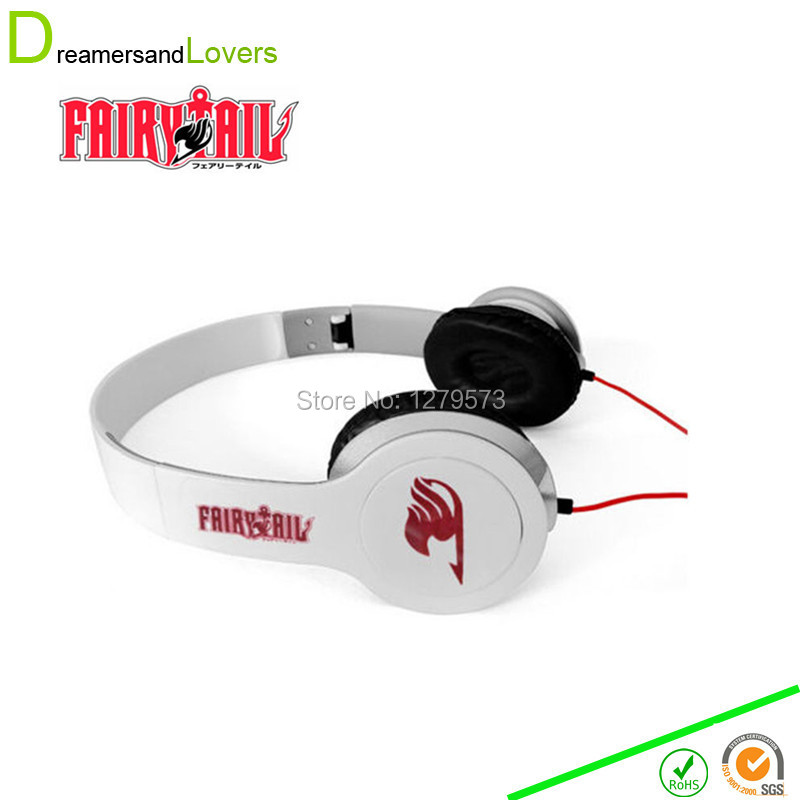 3.5mm Noise Canceling  Anime Japanese Headset Fairy Tail Cosplay Earphone Headphone For Iphone Computer Phone Samsung Smartphone<br><br>Aliexpress