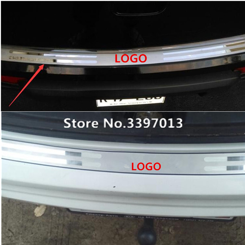 2009-2013 REAR BUMPER PROTECTOR for KIA SOUL I