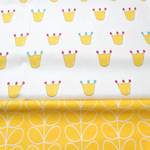 100% Cotton yellow color Twill Fabric 160cm width  Upholstery DIY craft sewing bed quilting clothing making cotton fabric