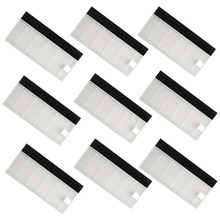 Accessory Hepa Filter ILIFE A6 A4 A4s Robot Vacuum Cleaner Replacement Parts 9 Pcs Hepa Filters
