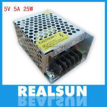 5V 5A 25W Switching Power Supply Driver Switching For LED Strip Light Display 110V/220V free shipping
