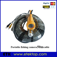 50m Underwater Fishing Camera, Sea Lake Fishing Video Camera DV,Fish Finder Sharp CCD 700TVL 3.6mm Lens