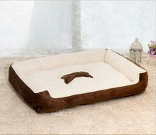 Thicken Bed Large Eco-Friendly Dog Bed Puppy House Cat Cage Petshop Products PP Cotton(China)