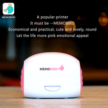 MEMOBIRD pink Printer Wifi Portable Bluetooth Printing Barcode Wireless Pocket Thermal Printer Electronic Computer Office(China)