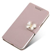 Case For Sony E5  Cell Phone Cover With Fashion Rhinestone Luxury Flower Diamond Phone Bags Cases For Sony E5