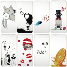 Nephy Brand Case For Huawei P8 Lite P9 Lite P8Lite P9Lite Cover Soft TPU Silicon Ultrathin Fashion Casing Housing Dog Cartoon