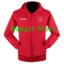 Brabus sweatshirts coat custom Brabus 4S shop hoodie jacket for men and women