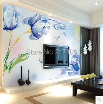 Papel DE parede custom large murals. Contracted style wallpaper TV wall in the sitting room the bedroom wallpaper contact paper <br>