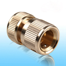 EZLIFE Brass Hose Pipe Fitting Set Universal Garden Lawn Water Hose Pipe Fitting Set Connector Tap Adaptor NB0408