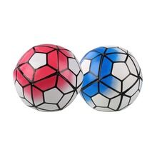 Red/ Blue Size 5 PU Football Ball Champions Anti-slip League Soccer Team Sporting  For Match