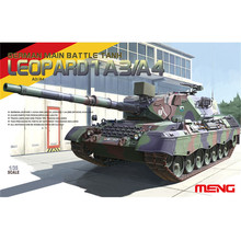 OHS Meng TS007 1/35 German Main Battle Tank Leopard 1 A3/A4 AFV Model Building Kits(China)