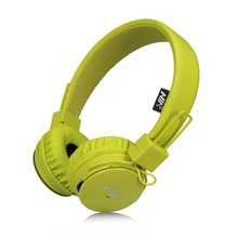 Original NIA Popular Greenery Series Stereo Headphones High Quality Foldable Sport Earphone with Microphone