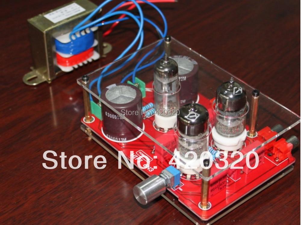6N3 amplifier board bile rectifier tube preamp board amplifier board + transformer<br><br>Aliexpress