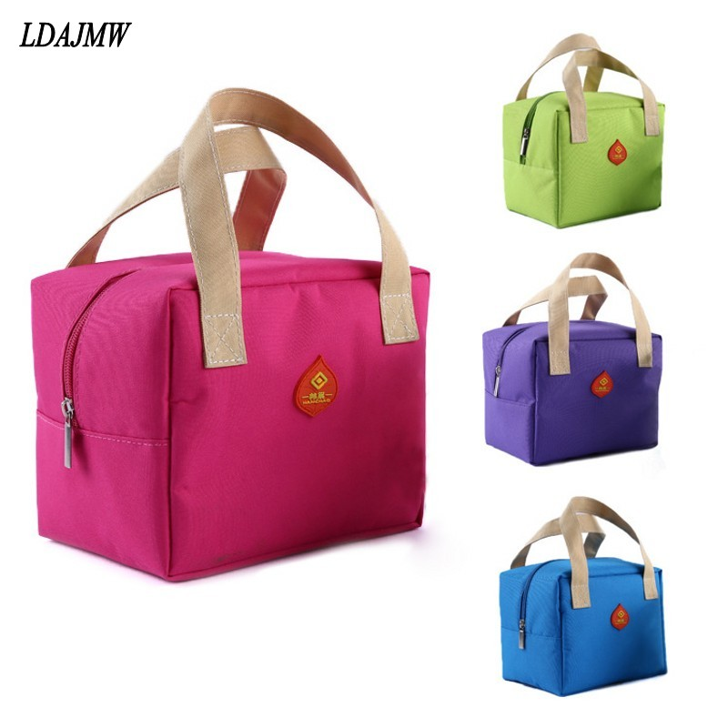 LDAJMW Portable Travel Picnic Cooler Bag Keep Fresh Thermos Storage Bag Thermal Food Ice Pack Lunch Bags Milk Bottle Organizers(China)
