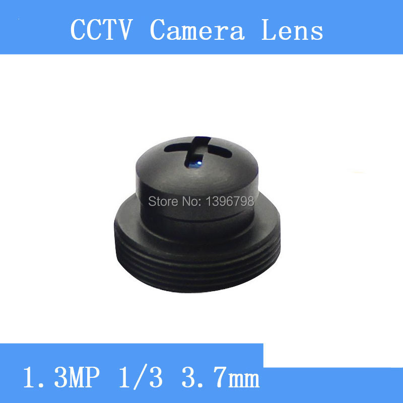 HD surveillance infrared camera lens black screw-shaped 1.3MP pinhole lens 3.7mm M12 thread CCTV lenses<br><br>Aliexpress
