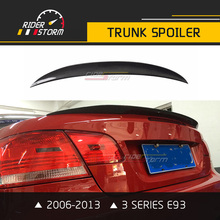 Buy Performance Style Carbon Fiber E93 Spoiler Rear Wing Trunk Bmw 3 Series Convertible 320 325i 318i 320i 330i M3 2006-2013 for $100.80 in AliExpress store
