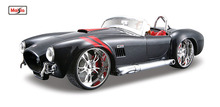Maisto 1:24 1965 Shelby Cobra 427 Diecast Model Car Toy New In Box Free Shipping