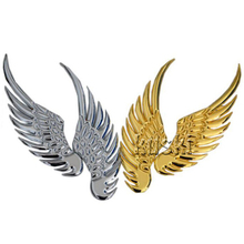 Metal 3D Wings Car Styling Sticker For Honda Civic 2006-2011 Accord CRV Hyundai Solaris I30 IX35 Accent Tucson 2016 Accessories