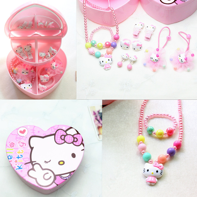 Whole Set Girls Hair Clips Hair Bands Accessories ...