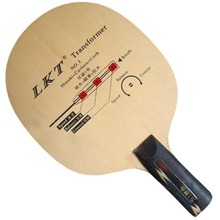 LKT Transformer NO.1 Hinoki+Carbon+Cork Table Tennis PingPong Blade penhold short handle CS