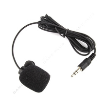 2016 New Arrival Brand New Mini 3.5mm Hands Free Clip On Microphone Mic For PC Notebook Laptop Skype Mac
