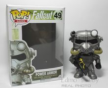 Funko POP Games : Fallout 4 Power Armor Vinyl  Figure PVC Action Figures Games Character Dolls Collection Brotherhood of Steel