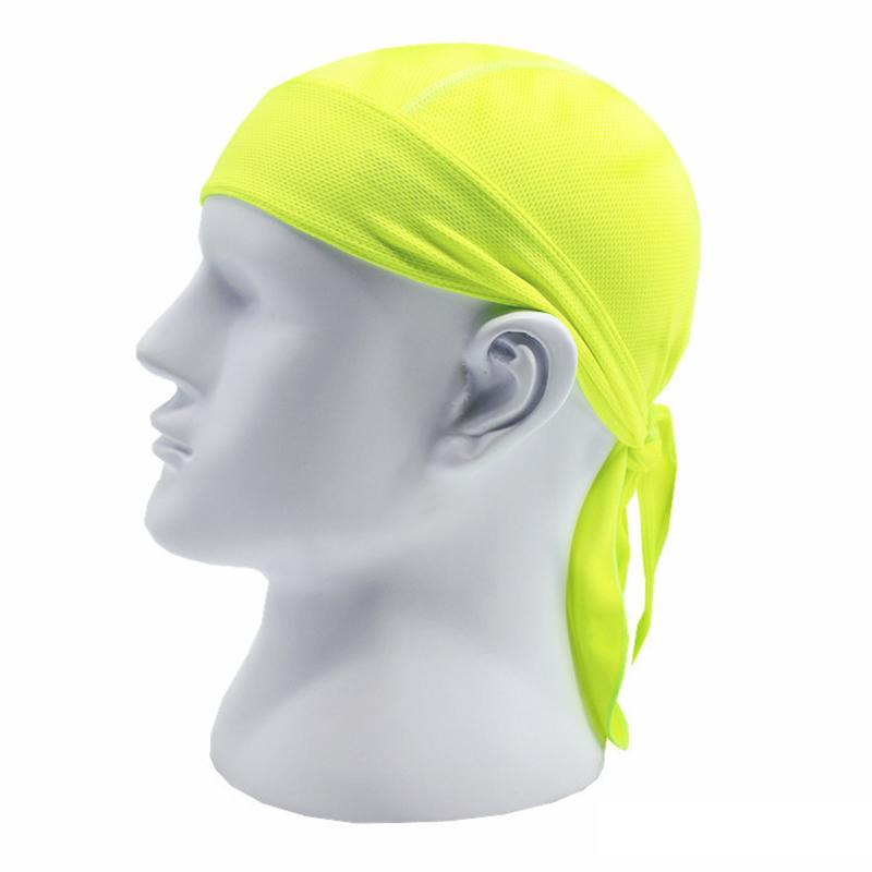 Bicycle Hat Men Women Cycling Pirate Cap Helmet Black Quick Dry Head Scarf MTB Team Headband Green White Ciclismo PA0195 (3)