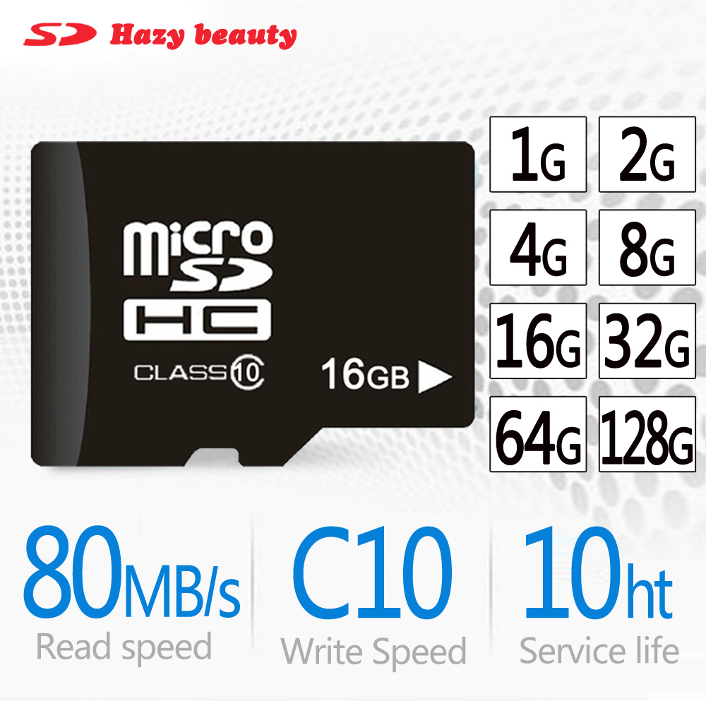 Micro original TF SD Card 64GB 16GB 32GB 128GB Class10 2GB 4GB 8GB Class 4 Flash Memory Card reader for Microsd free shipping(China)