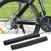 Bike Cycling Frame Chain Posted Protector Care Cover Protection Guards Black