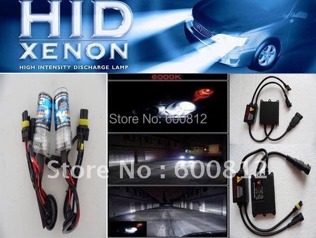 Wholesale - Car XENON HID Conversion Kit 12v DC 35W  H7 6000K  auto HID xenon lamp Blub slim ballast for A4 vehicle headlights<br><br>Aliexpress