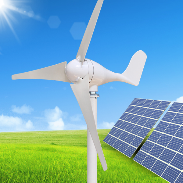 Wind solar hybrid system 100w wind generator popular for export sales(China (Mainland))