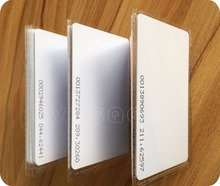 Free shipping,rfid card,plastic blank card RF proximity EM card with 125kHz,0.8mm thin card,300pcs/lot(China)