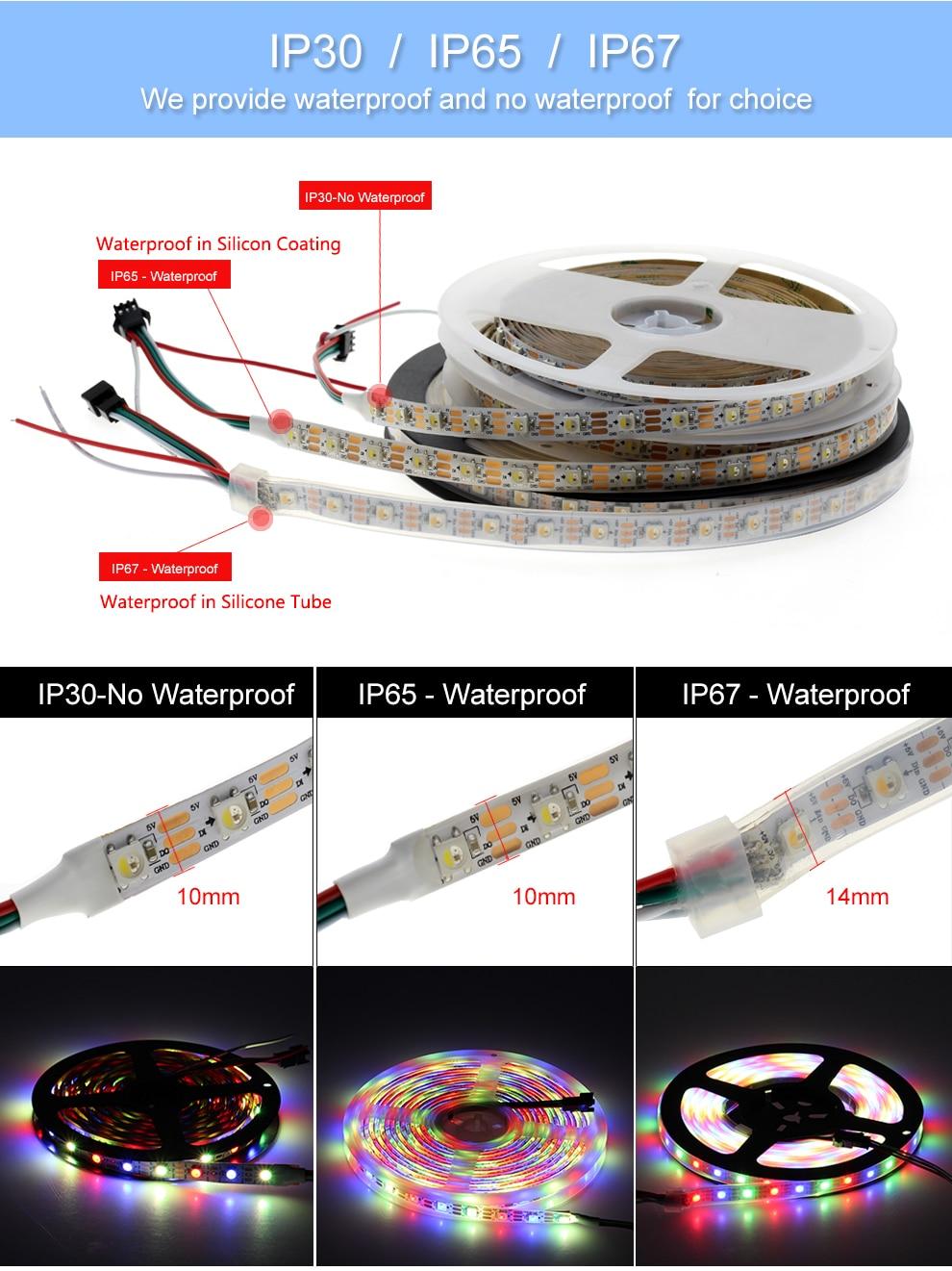 Full Color SK6812 strip (12)