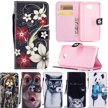 fundas For Huawei Y5 2 cases cover Flip cover PU leather wallet for coque Huawei Y5 II y 5II phone bags for honor y5 ll Y5 2