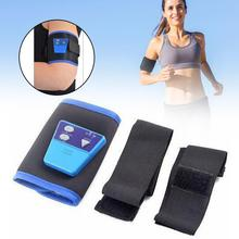 Health Care Slimming AB Gymnic Electronic Body Muscle Arm leg Waist Abdominal Massage Exercise Toning Belt Slim Fit Vibrator(China)