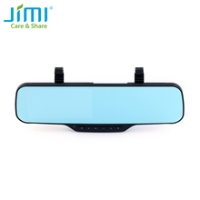 Jimi JC900 3G Smart Car Camera 1080P Android Dual Camera Clip Strap Bracket Rearview Mirror DVR With Bluetooth GPS Navigation