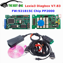 2017 Diagbox V7.83 Lexia 3 PP2000 With 921815C Firmware Lexia-3 V48 Lexia3 For Citroen Peugeot PSA XS Evolution Diagnostic Tool(China)