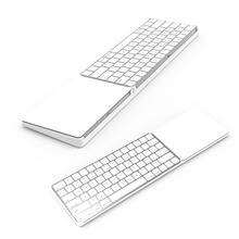 Spinido Bestand Keyboard Stand for Magic Trackpad 2 and Apple latest Magic Keyboard(MLA22LL/A), White