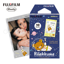 2016 Genuine Rilakkuma 10pcs Fujifilm Instax Mini 8 Film Fuji Photo Paper For Polaroid 8 50s 7s 90 25 Share SP-1 Instant Camera